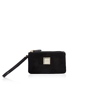 Black mini pouch purse