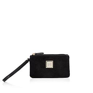 Black mini pouch purse