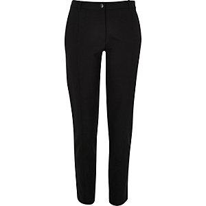 Black slim pants