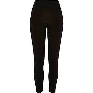 Black premium high waisted leggings