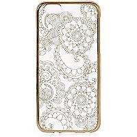 iPhone 6-Case mit Blumenmuster