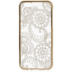Gold foil iPhone 6 case