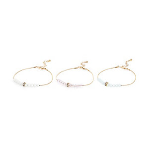 Gold tone bracelet pack