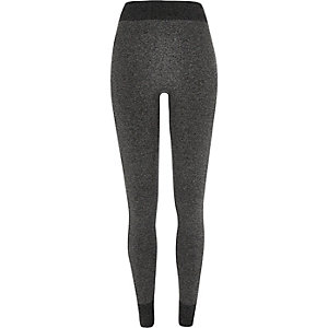 Grey high waisted seamless leggings