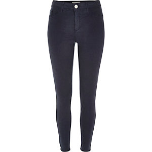 Dark wash blue Molly jeggings