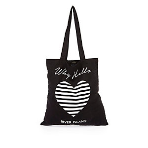Black River Island shopper bag
