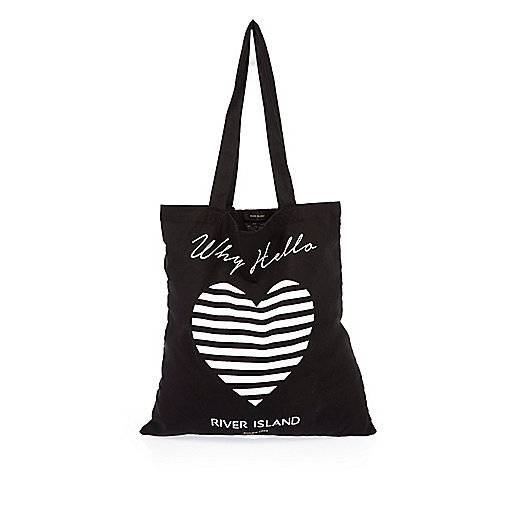 Black River Island shopper bag