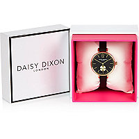 Daisy Dixon Grace slim leather watch