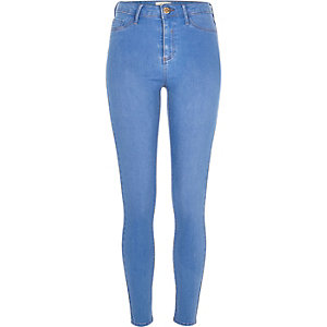 Blue wash Molly jeggings