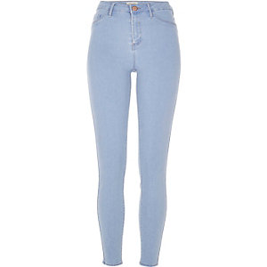 Light blue wash Molly jeggings