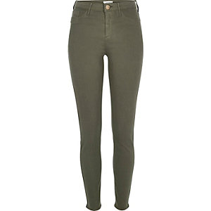 Khaki Molly jeggings
