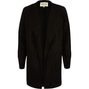 Black jersey jacket