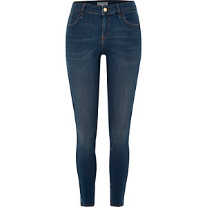 Medium blue Amelie skinny jeans