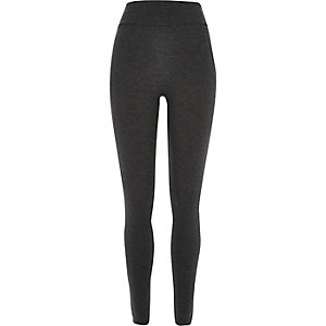 Dark grey high waisted leggings