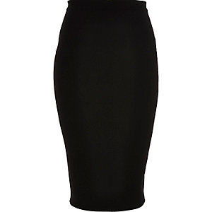 RI Plus black pencil skirt