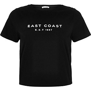 Black East Coast t-shirt