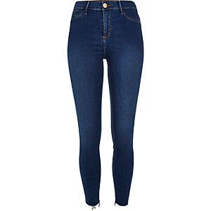 Dark blue wash Molly skinny jeans