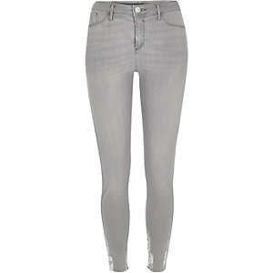 Grey Molly skinny jegging