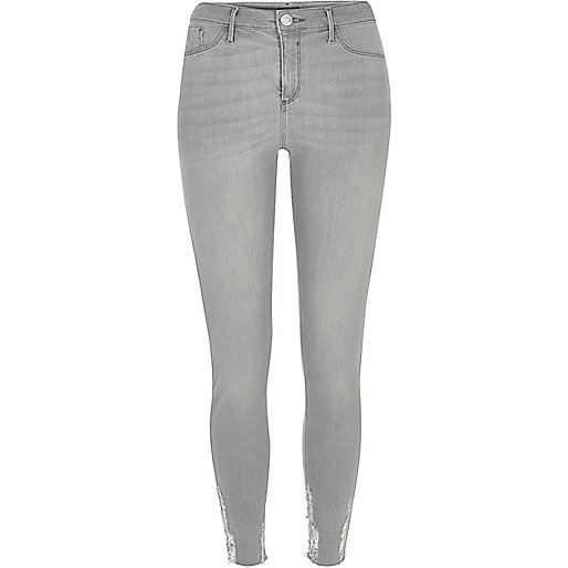 Jegging skinny Molly gris