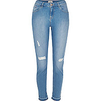 Light blue wash Alannah skinny jeans
