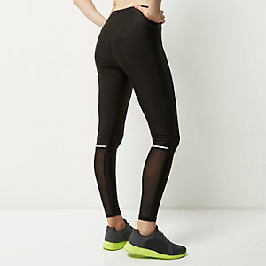 RI Active black mesh panel leggings
