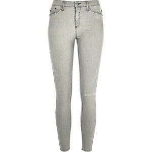 Light grey wash Molly jeggings