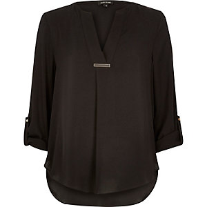 Black smart blouse