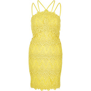 Yellow cornelli dress