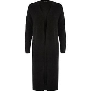 Black maxi cardigan