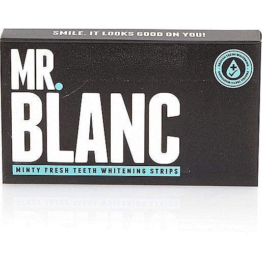 Mr Blanc teeth whitening strips