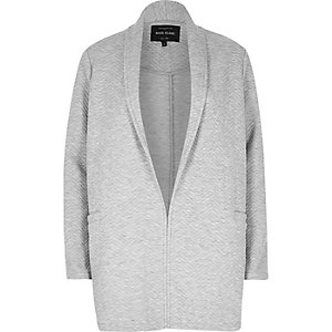 Light grey jersey jacket