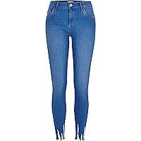 Blue Amelie super skinny jeans