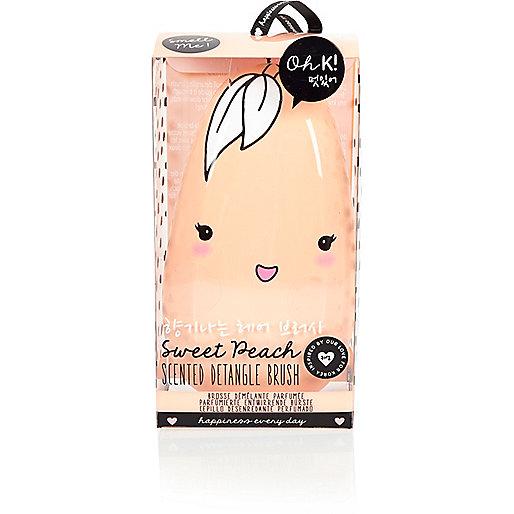 Oh K – Entwirr-Haarbürste mit Pfirsichduft