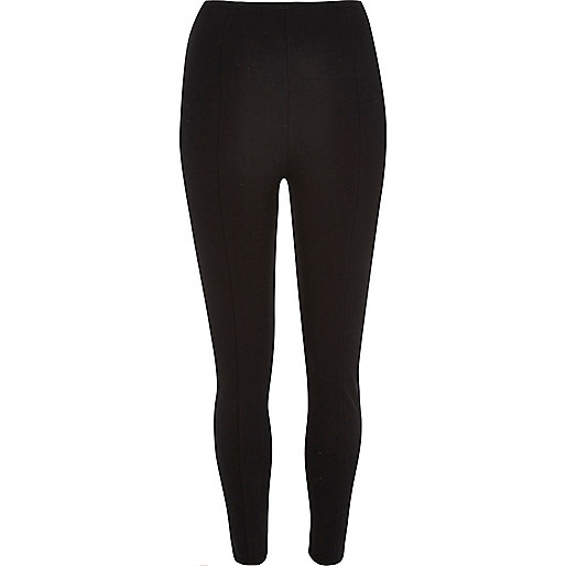 Black high rise leggings