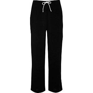 Pantalon de pyjama en velours noir