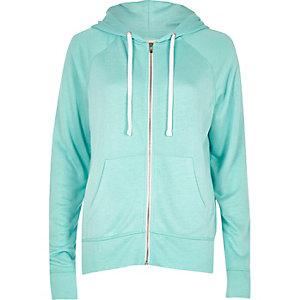 Light blue soft hoodie