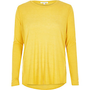 Yellow light jersey top