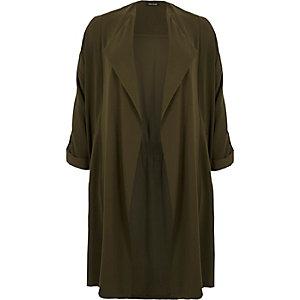 RI Plus khaki duster jacket
