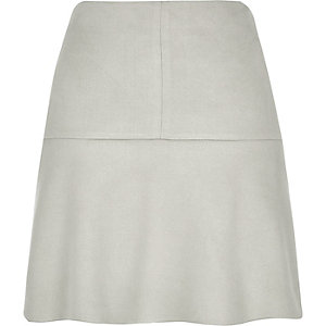 Grey flippy skirt