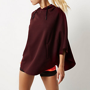 RI Active burgundy sports cape