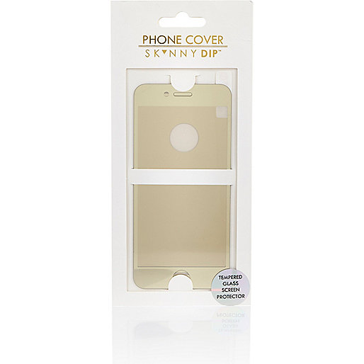 Gold iPhone 6 screen protector