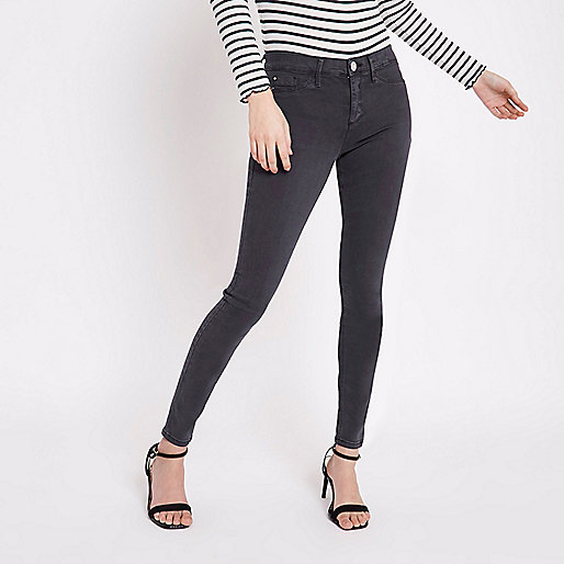 Jegging Molly gris bleu