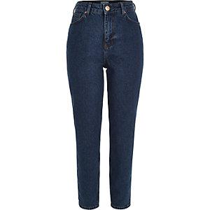 Dark blue authentic Mom jeans