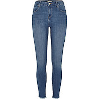 Amelie – Superskinny Jeans in hellblauer Waschung