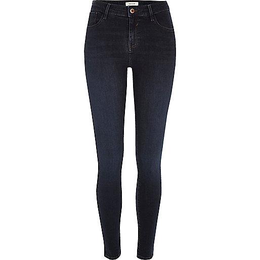 Amelie – Superenge Skinny Jeans in dunkler Waschung