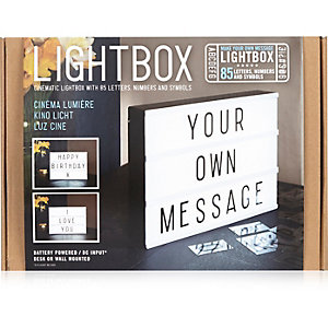 Light up box
