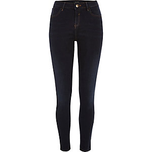 Dark wash Amelie super skinny jeans