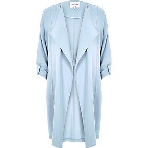 Light blue duster jacket