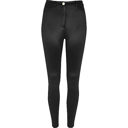 Black tube pants
