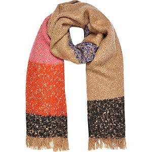 Pink print super soft scarf